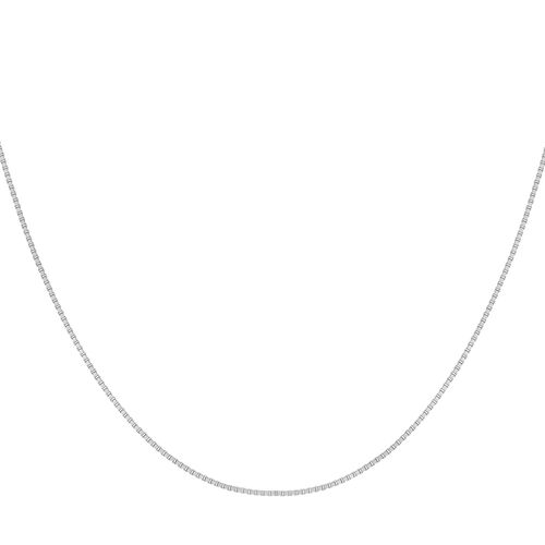 Sterling Silver Box Chain (Size 15)