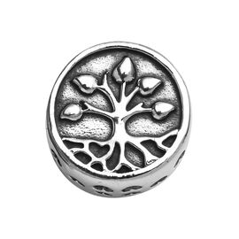 Charmes De Memoire Tree of life Charm in Platinum Plated Sterling Silver 3.35 Grams
