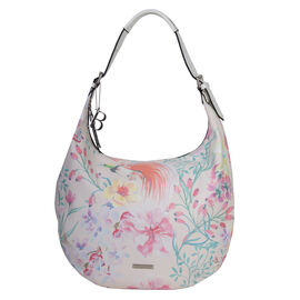Bulaggi Collection - Bird Hobo Shoulder Bag (Size 35x25x12 Cm) - Multi