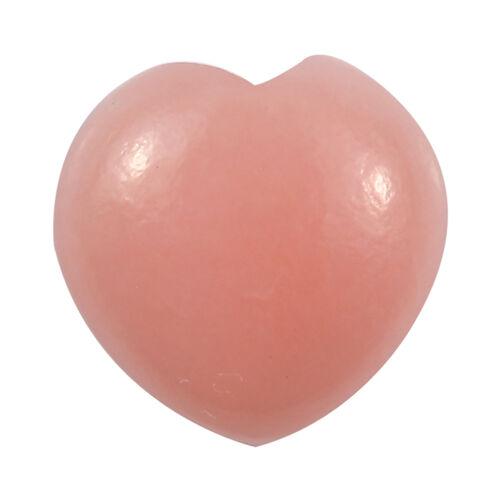 1.47 Ct AA Pink Opal Heart Shape Gemstone (8 mm) With Box