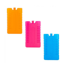3 Pack 200ml Ice Pack - 3 Assorted Colours (Orange, Pink & Blue) (16.5x9 Cm)