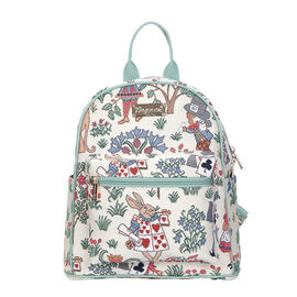 SIGNARE  - Tapestry Collection -Alice in Wonderland Casual Backpack (26x28x14 cms)