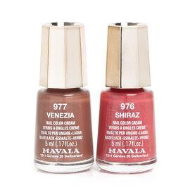 Mavala - Duo Mini Colour - Shiraz 976 and Venezia 977