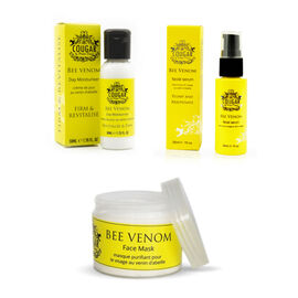 CB&CO: Bee Gift Set (Incl. Facial Serum - 30ml, Face Mask & Day Moisturiser - 50ml)