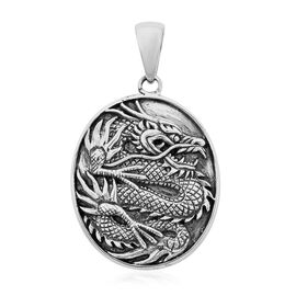 Royal Bali Collection Dragon Pendant in Sterling Silver