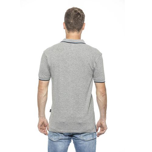 19V69 ITALIA Short Sleeve Basic Polo Shirt (Size M) - Grigio/Grey