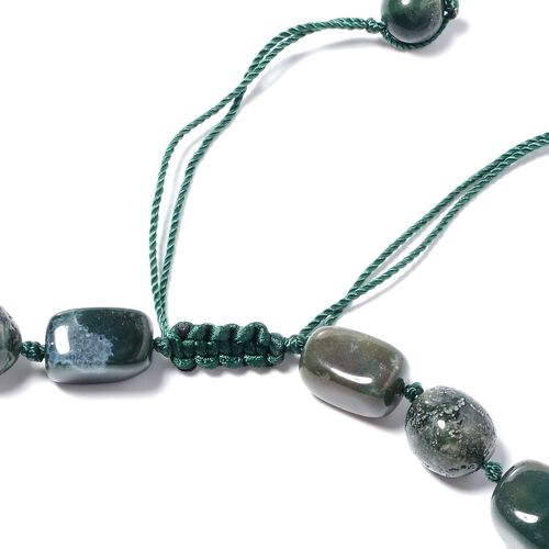 One Time Mega Deal- Rare Size Agate Adjustable Beads Necklace (Size 18 - 32) 579.00 Ct.