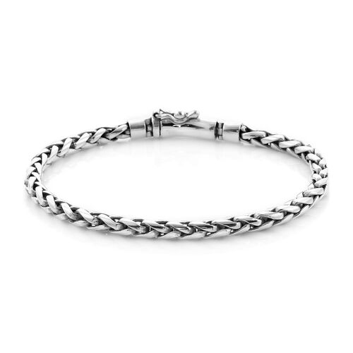 Royal Bali Collection - Sterling Silver Bracelet (Size 8.5), Silver wt. 24.89 Gms