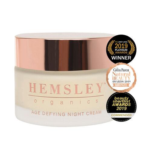 Hemsley Organic: Age Defying Night Cream - 50ml