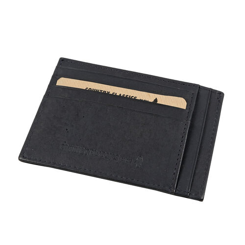 MCS Country Classics 100% Genuine Leather Wallet (8x11cm) - Dark Blue