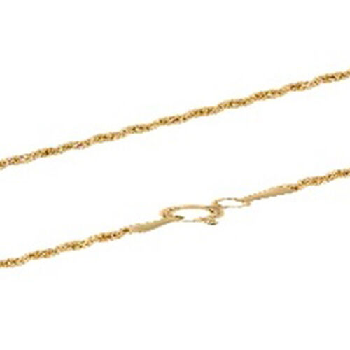 9K Yellow Gold Chain (Size 20), Gold wt 8.90 Gms.