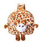 Close Out Deal- 3D Giraffe Kids Plush Backpack (Size 26x27x7cm) with Shoulder Strap