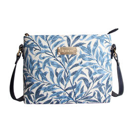 SIGNARE - Tapastry Willow Bough Cross Body Bag (28 x 18 x 8 cms)