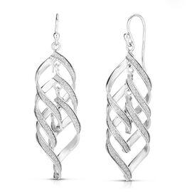 One Time Deal- Sterling Silver Dangle Hook Earrings