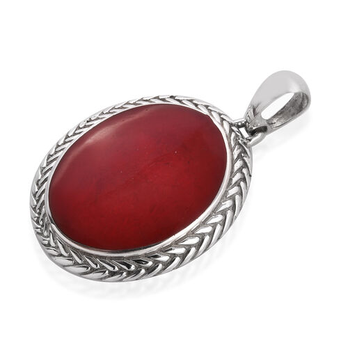 Royal Bali Collection Sponge Coral Pendant in Sterling Silver