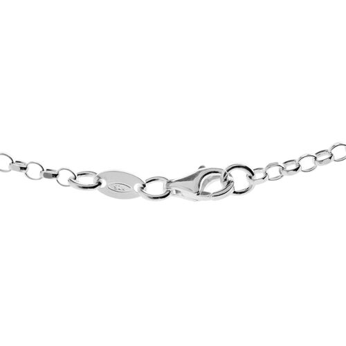 Vicenza Collection Sterling Silver Chain (Size 20), Silver wt. 5.59 Gms.