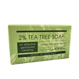The English Soap Company: 2% Tea Tree Soap - 190g