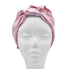 100% Mulberry Silk Turban / Bonnet in Pink (Size 18x24cm)