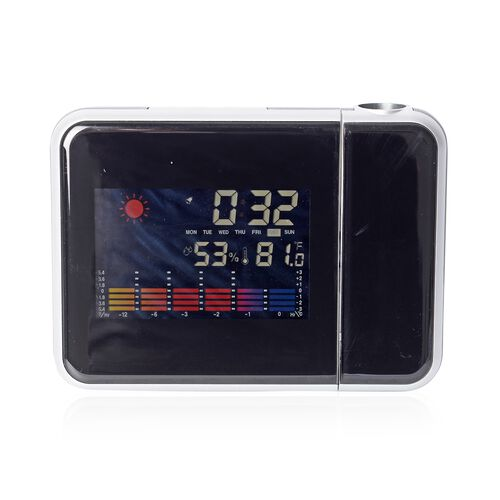 Home Decor - Multifunction Colour Screen Calendar Temperature, Humidity, Time, Alarm, Date and Proje