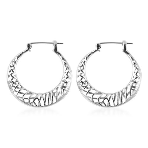 Isabella Liu Sea Rhyme Collection - Rhodium Overlay Sterling Silver Earrings (with Clasp)