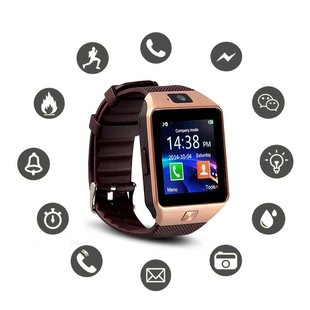Challenger: Bluetooth Phone Watch with 17cm USB Cable - Rose Gold