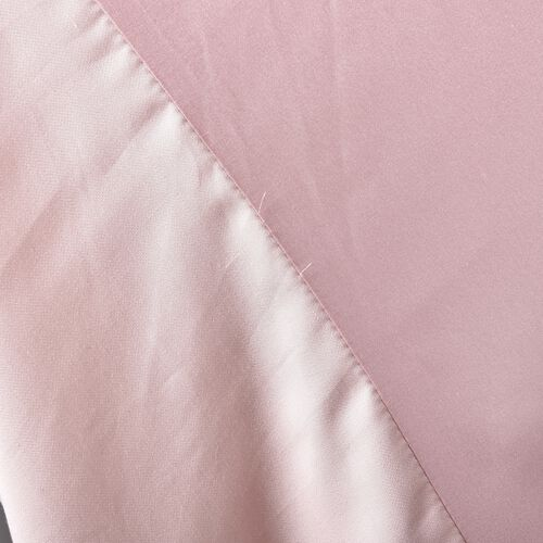 100% Top Mulberry Silk Fitted Sheet Infused with Hyalu & Argan Oil(Size 140x190+30 Cm) - Pink