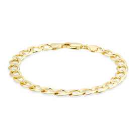 9K Yellow Gold Curb Bracelet (Size 8), Gold Wt. 9.90 Gms