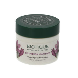 Biotique: Bio Saffron Youth Dew Visibility Ageless Moisturiser - 50g