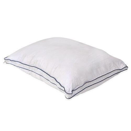 Air Flow Molded Memory Foam Core HYBRID Pillow with Faux Dawn Surround (Size 65x47 Cm)
