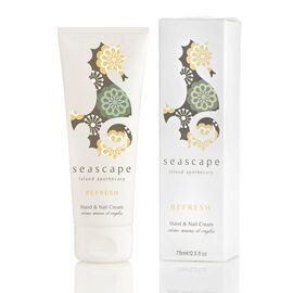 Seascape: Island Apothecary Refresh Hand & Nail Cream - 75ml