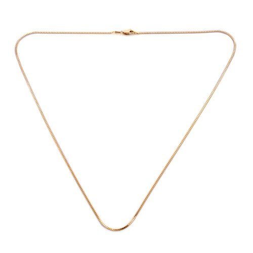 Royal Bali Collection - 9K Yellow Gold Necklace (Size 22)