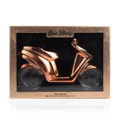 Glam Wheels: Rose Gold Scooter (2 Wheels) - 89ml Eau De Parfum