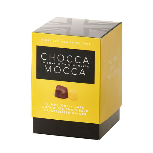 Chocca Mocca - Ginger in Plain Chocolate - 100g