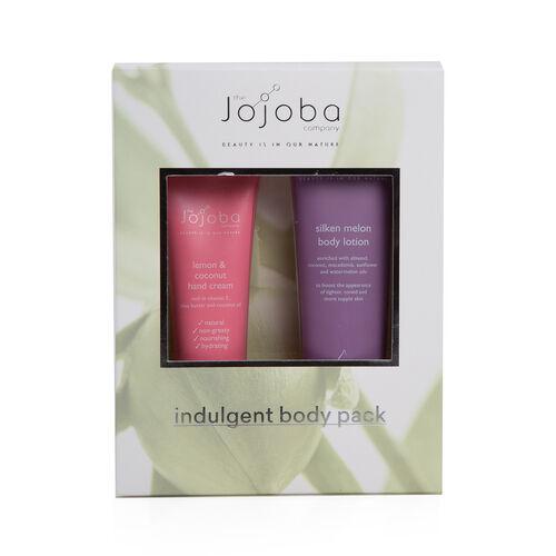 Jojoba: Lemon & Coconut Hand Cream - 80ml & Silken Melon Body Lotion - 125ml