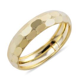 Royal Bali Collection- 9K Yellow Gold Band  Ring