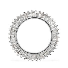 ILIANA 18K White Gold IGI Certified Diamond (Bgt) (SI/G-H) Circle of Life Pendant 0.500 Ct.