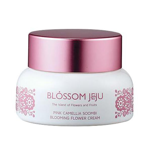 Blossom Jeju: Pink Camellia Soombi Blooming Flower Cream - 50ml