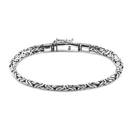 Royal Bali Borobudur Bracelet in Silver 22.20 Grams 7 Inch