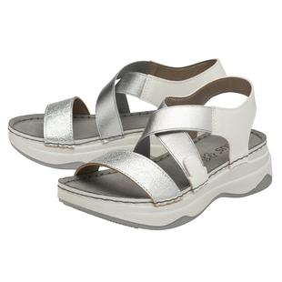 Lotus Moderna Women's Open- Toe Sandals - Silver
