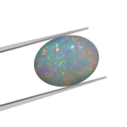 AAA Ethiopian Opal Oval Free Cabochon 24.59 Cts