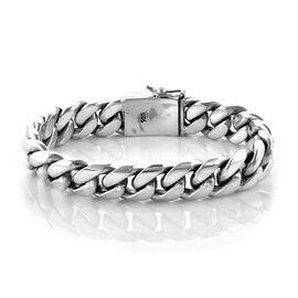 Royal Bali Collection Snake Bone Inspired Bracelet in Sterling Silver 116.32 Grams