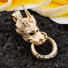 Designer Close Out - Royal Bali Collection 9K Yellow Gold Dragon Pendant