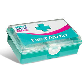 Safe & Sound: 34 Pieces First Aid Kit