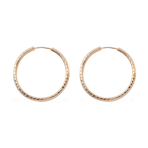 Royal Bali Collection- 9K Yellow Gold Earrings, Gold wt 3.23 Gms.