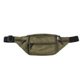Canvas Bum Bag - Khaki Green