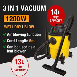 3 in1 Wet & Dry Vacuum Cleaner