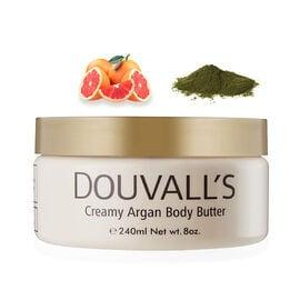 (Option 2) Douvalls: Argan Body Butter (Kelp & Pink Grapefruit) - 240ml