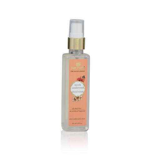 (Option 2) Just Herbs Myrrh Sandalwood Restorative Tonique (100 ml) (Oily and Combination Skin)