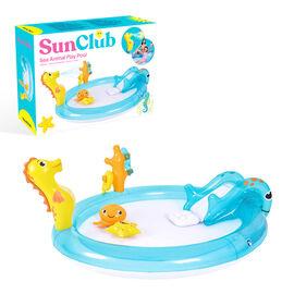 Sun Club 2M Sea Animal Play Pool with Water Spray