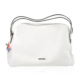 Bulaggi Collection - Sabrina Shoulder Bag (Size 37x29x15 Cm) - White